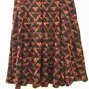 Luxurious jacquard geometric Small Madison skirt